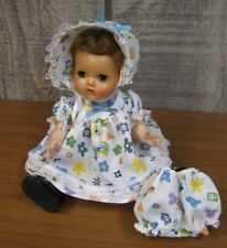 """ADORABLE NEW MADE 11"""" TINY TEARS DOLL OUTFIT DRESS, BONNET, AND PANTIES"""