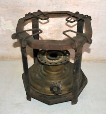 Vintage Old Brass Cast Iron Cooking Stove FFAR India Brand Portable Oil Stove