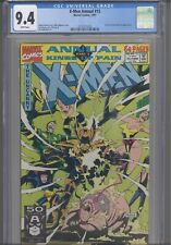 X-Men Annual #15 CGC 9.4 1991 Marvel Kings of Pain Pt 3 X-Force & New Warriors