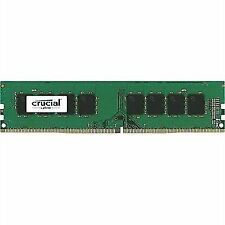 Crucial 8gb Ddr4-2400 288 Pin UDIMM Single Ct8g4df