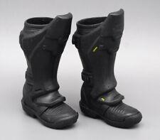 "Hottoys 1/6th Batman Arkang City Leg armor boot model For 12"" Action Figure"