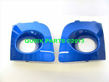 OEM 2006-2007 Subaru Impreza Rally Blue Fog Lamp Covers NEW H4518FE100PG