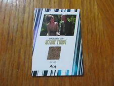 2017 Women of Star Trek 50th Anniversary Anij Costume Relic Card RC4