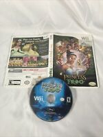 The Princess and the Frog (Nintendo Wii, 2009) Complete with Manual