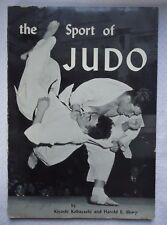 THE SPORT OF JUDO AS PRACTICED IN JAPAN by Kiyoshi Kobayashi 1955 Edition Book