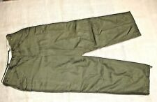 USGI MILITARY TROUSERS SHELL FIELD M-1951 MEDIUM REGULAR USED EXCELLENT
