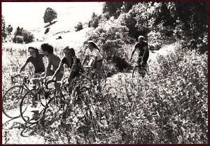 1970s Original Press Photo Daulte Sport Bicycle Family