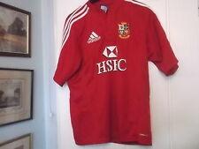 British Leones Rugby Union Camiseta Tamaño Pequeño Adidas hacer