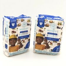 Toddler Training Pants Construction Zone 3T/4T 46 Count 2Pack The Honest Company