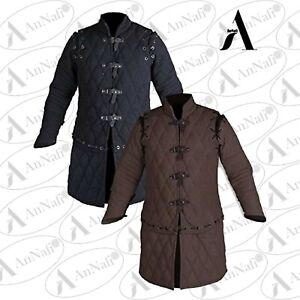 Winter Gift Gambeson Thick Padded Medieval Jacket Armor SCA COSTUMES DRESS