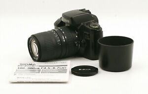 Canon EOS Elan w/ Sigma DL Zoom 100-300mm F4.5-6.7 For Canon EF Mount!
