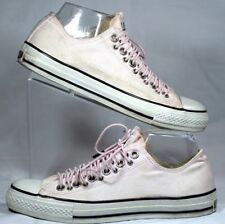 PINK CONVERSE ALL STAR SNEAKERS/ SHOES  MULTI EYELET WOMENS SIZE 9 MENS SIZE 7