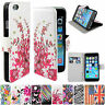 Flip Leather Wallet Phone Accessory Skin Cover Case For Apple iPhone Samsung HTC
