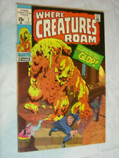 Where Creatures Roam #7 VF+ The Fantastic Glop !