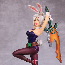 League of Legends LOL Battle Bunny Riven PVC Action Figure Toy Garage Kits Gift