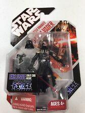 Star Wars Force Unleashed 2008 Battle Damaged Darth Vader Figure Lot MOC