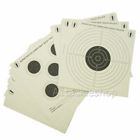 25 Pack Bisley Airgun, Air Rifle Card Targets - Double Sided
