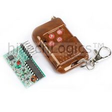 IC2262 / 2272 Wireless 4 -Channel RF Remote control Transmitter & Receiver Kits.