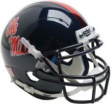 Ole Miss Rebels Schutt Chrome Decal Mini Football Helmet - Fanatics