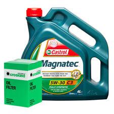 Castrol Magnatec 5W30 - C3 Spec Engine Oil 4L and Oil Filter Service Kit