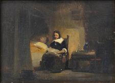 Originale künstlerische Malerein aus Holz mit Porträt- & Personen-Motiv