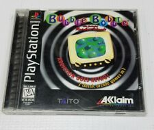 BUBBLE BOBBLE FEATURING RAINBOW ISLANDS Playstation PS1 Complete CIB Good