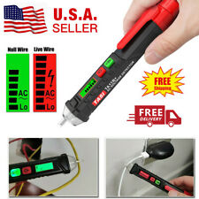 12-1000V AC Detector Non-Contact LCD Pen Tester Pencil Test Electric Voltage
