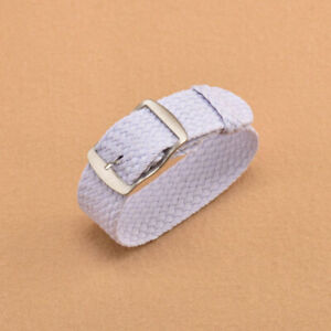 Watch Band Canvas Classic Buckle Quick Release Nylon Loop Strap 14mm-22mm