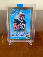 2018 Optic TRE'QUAN SMITH Bronze New Orleans Saints - ROOKIE AUTO!!