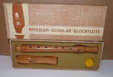 ROSSLER-SCHOLAR-BLOCK FLOTE WOOD RECORDER