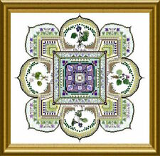 10% Off Chatelaine Counted X-stitch Chart - The Violet Patch Mandala