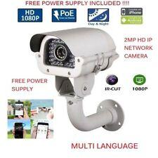 1080P 2MP POE Outdoor VariFocal 2.8-12MM IP HD IR Security Camera CCTV mtl