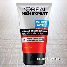 100 g. L'OREAL Men Expert White Activ Foam Volcano Red Anti Acne FACE Wash