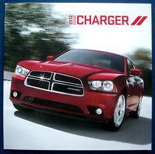 Prospectus brochure 2012 DODGE CHARGER (USA)