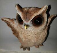 Owl Figurine Statues Ceramic Figurine Decorative