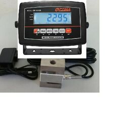 Coil, Coil Spring, Race Car, Strut, Compression Digital Scale 3000x0.5 lb tester