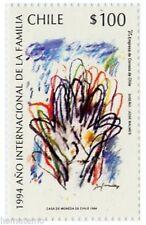 Chile 1993 #1663 Año Internacional de la Familia MNH
