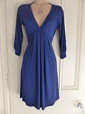 Zara basic size S vivid blue short jersey material dress