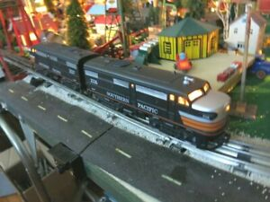 K-LINE SP BLACK WIDOW ALCO A-A DIESEL DUO AND YARD SWITCHER **** NICE!