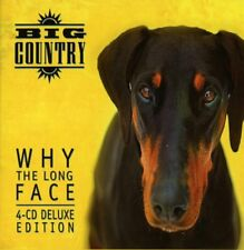 BIG COUNTRY - WHY THE LONG FACE? - NEW CD BOX SET