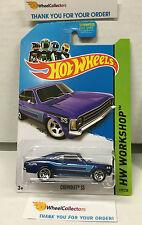 Chevrolet SS #199 * BLUE * 2014 Hot Wheels * Y4