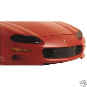 Fits 98-02 Chevrolet Camaro V6 SS Z28 GTS Smoke Acrylic Headlight Covers GT0325S