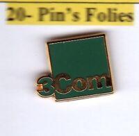 Pin's Arthus Bertrand Media 3com vert
