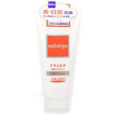 Shiseido Japan Naturgo White Clay Cleansing Foam Wash (120g/4 fl.oz)