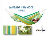 New Brazilian L Family Hammock ~ Lambada ~ Apple