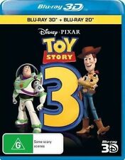 Toy Story 3 (Blu-ray, 2011, 3-Disc Set)