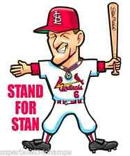 Stan Musial STAND FOR STAN SGA St Louis Cardinals Facsimile Autograph  FREE SHIP
