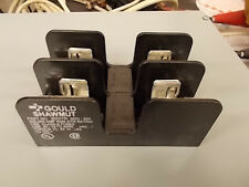 Gould Shawmut (Ferraz) 20657R Fuse Block 60 Amp 250 Volt 2 Pole Molded