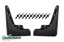 2011-2014 Dodge Charger BLACK REAR MOLDED SPLASH GUARDS SET OF 2 OEM NEW MOPAR
