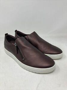Ecco Fara Slip-On Women's Sneaker Size 41 M EU 10 M US Metallic